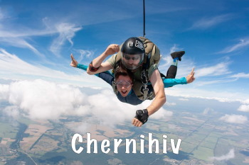 jump with parachute in dnepr rovno
